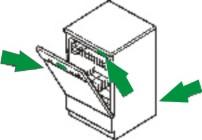 Mosogatógép adattábla